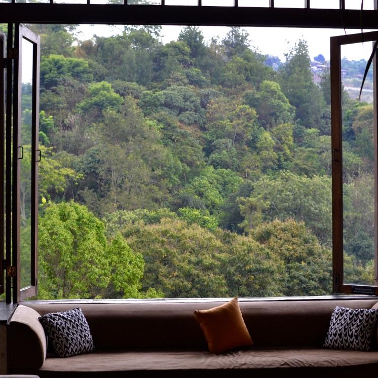 udsigt fra foyer