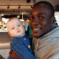 Glædeligt gensyn med Joshua fra Uganda