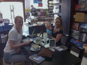 Besøg af vores hollandske veninde, Femke