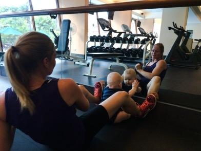 Villads deltager ivrigt i træningen
