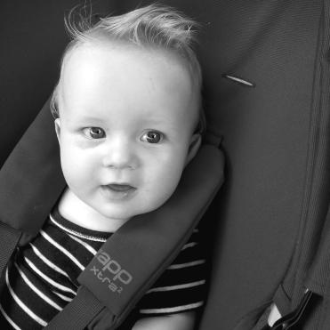Snart 9 måneder gammel