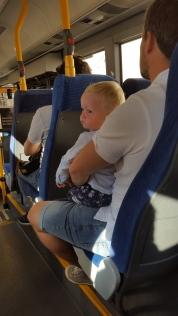 Så meget at se på i bussen
